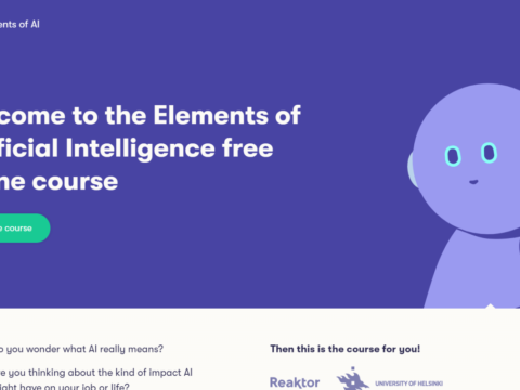 Wonder what AI is? Check out this awesome free online course