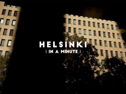 Helsinki in a minute