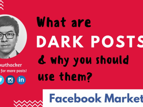 "What are ""dark posts"" & Why you should use them?"