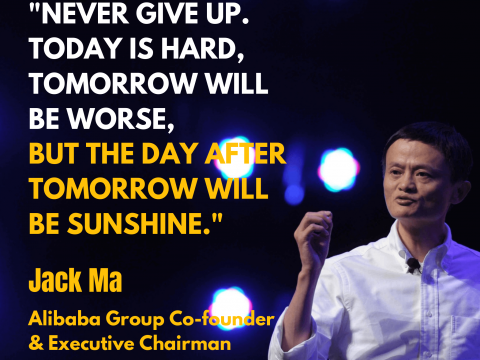 10 advice from Jack Ma that will change your life