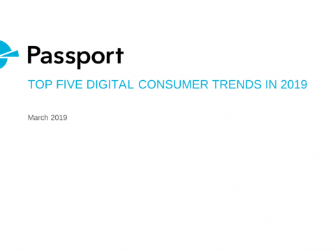 [REPORT] Top 5 Digital Consumer Trends in 2019 – PASSPORT