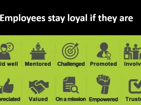 What do you think is the most powerful factor to motivate employees?
