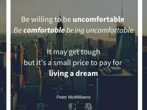 """""""Step out of your comfort zone"""". You hear this all the time, but why, and how?"""