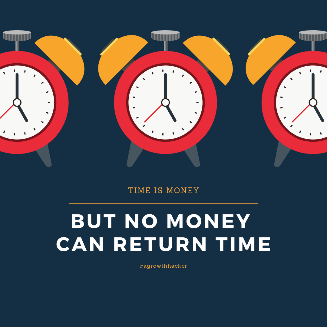 """""""Time is Money"""". Do you agree?"""