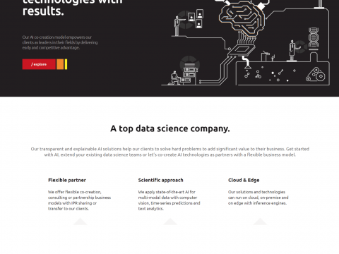 A sneak peek of our latest project with Top Data Science