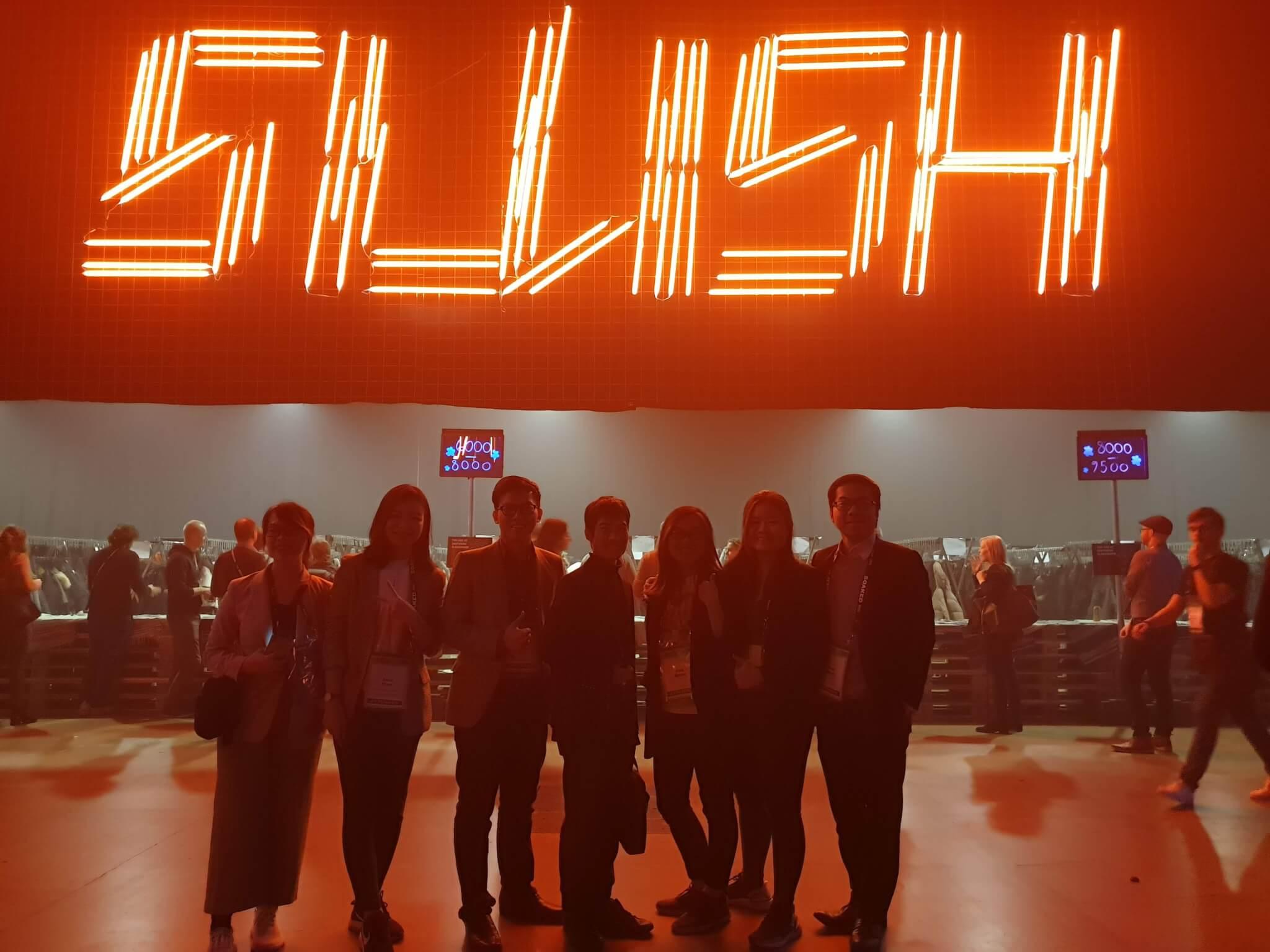 Amazing Slush 2019 , the world's leading startup and tech
