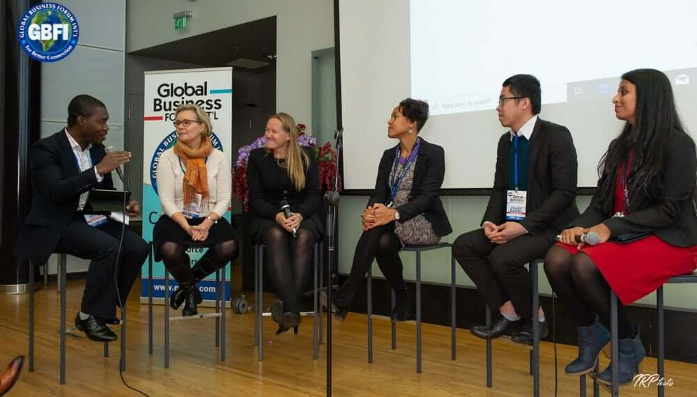 Another great panel discussion at the Global Business Forum Finland 2019!