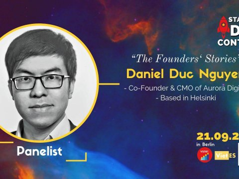 """I'll be joining the panel discussion on """"The Founders' Stories"""" at Startup Idea Contest 2019 in Berlin"""